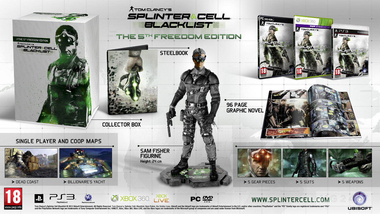 réservation splinter cell blacklist édition ultimatum