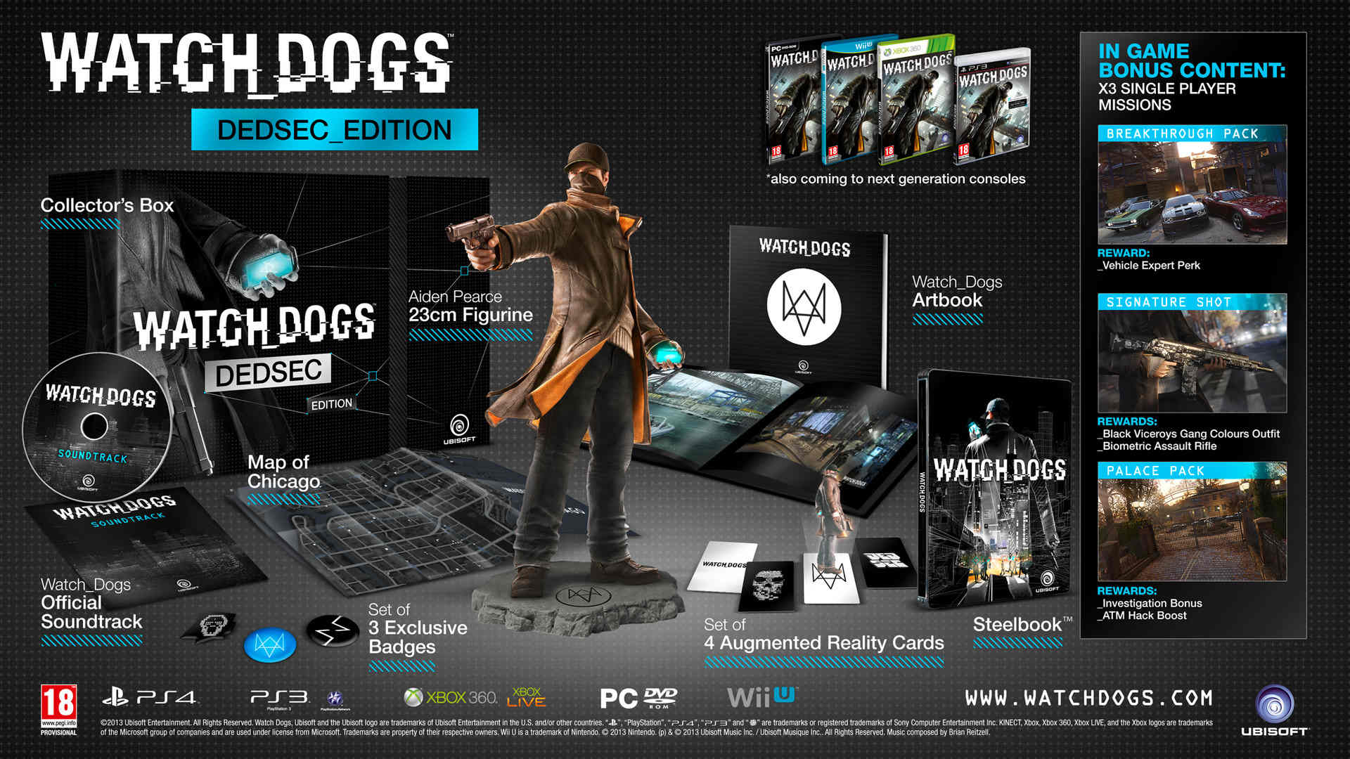Commander Watch Dogs édition Dedsec