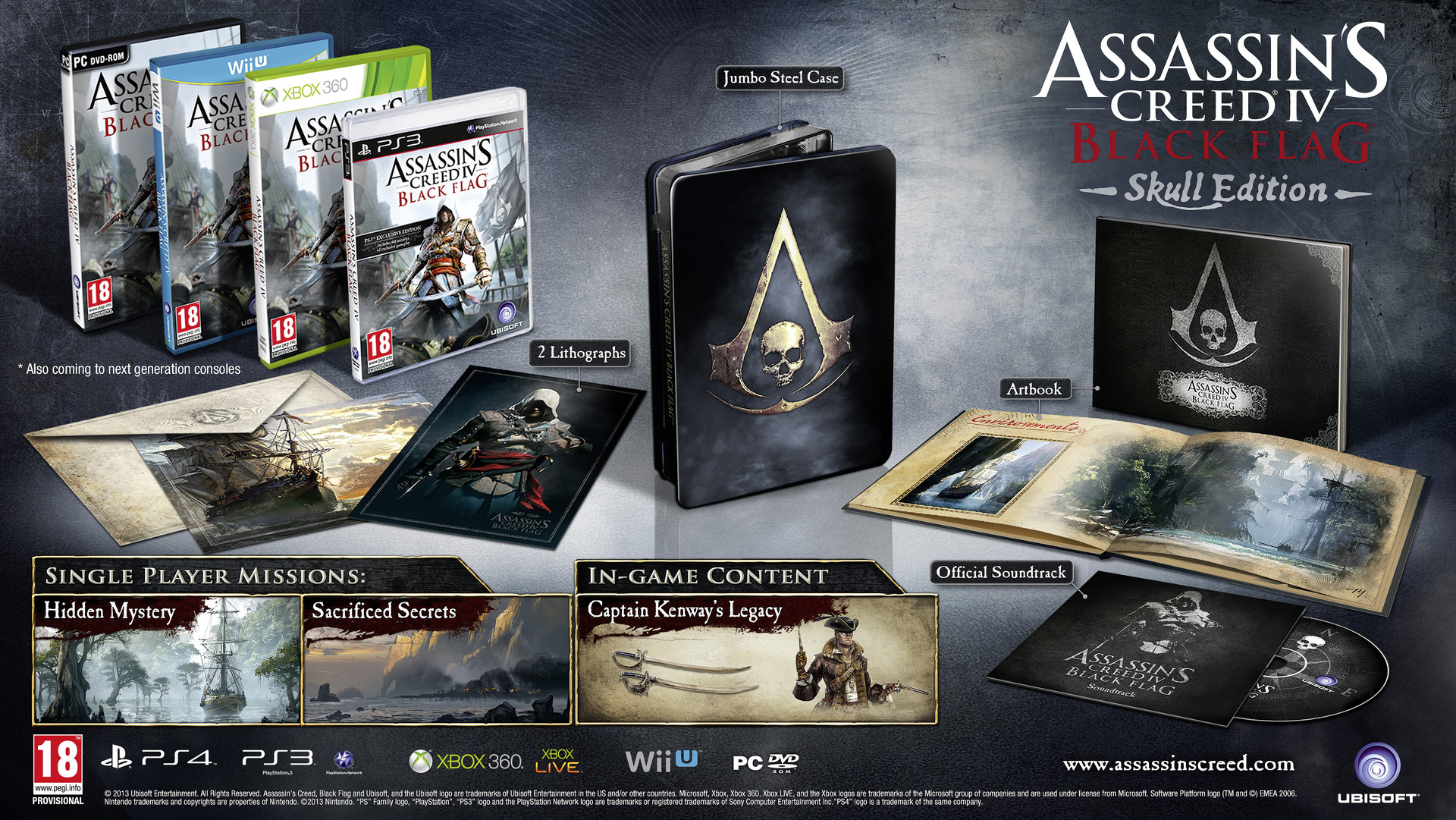 réserver assassin creed 4 skull édition