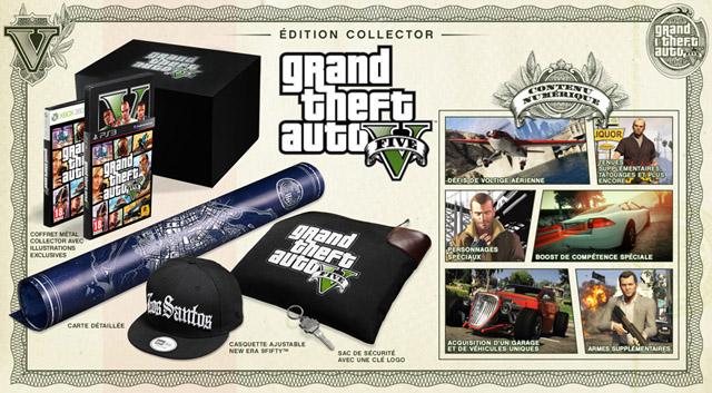 réservation édition collector GTA 5