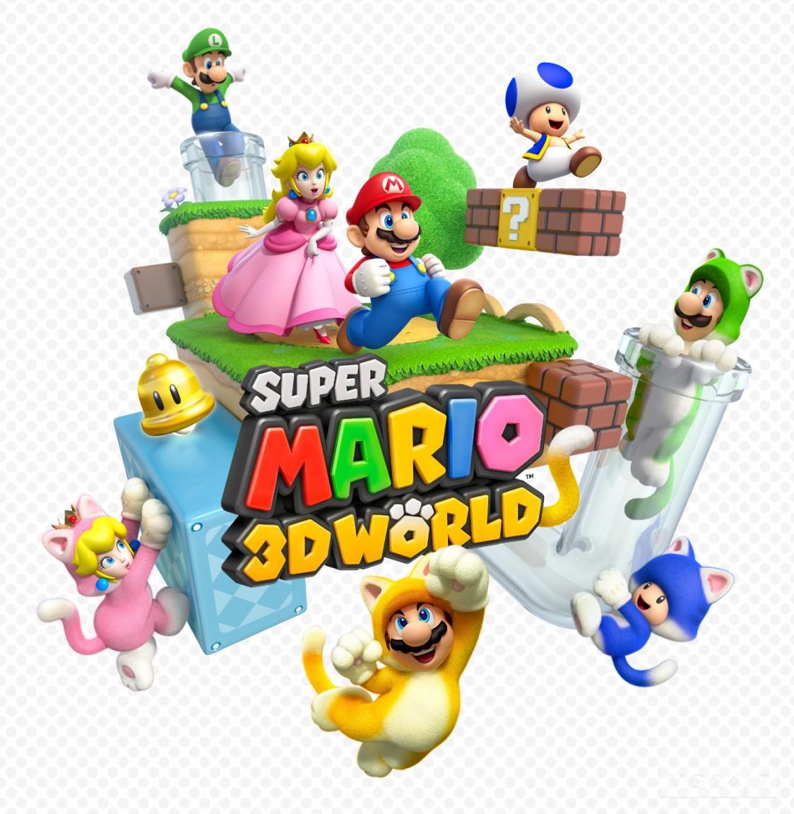 commander Super Mario 3D World