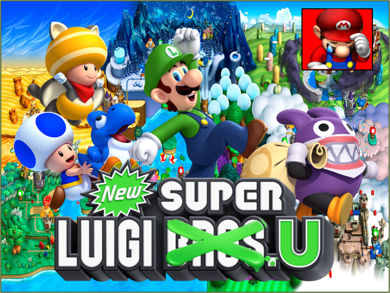 réserver New Super Luigi U