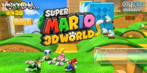 Commander Super Mario 3D World