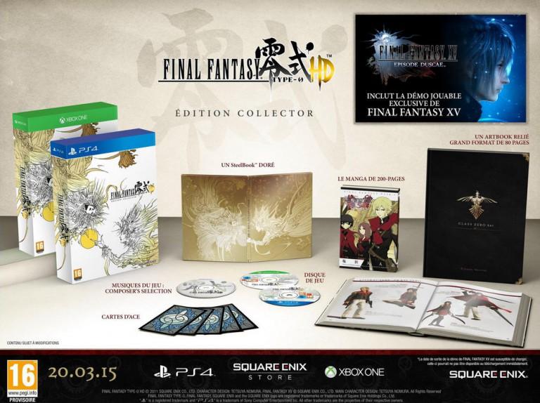 Final Fantasy Type 0 HD - Jeux Précommande