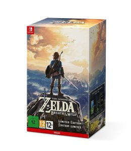 The Legend of Zelda Breath of the Wild Édition Limitée Nintendo Switch - Jeux Précommande