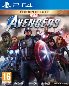 Marvel Avengers édition deluxe