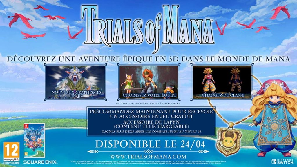 Trials of Mana de Square Enix
