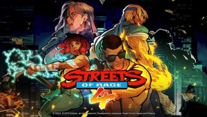 STREETS OF RAGE 4 - JEUX PRECOMMANDE